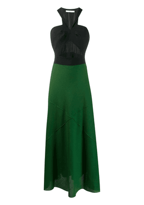 Givenchy two tone dress - Green