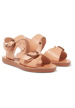 Ancient Greek Sandals Kids - Size 23 - 34 Little Irini Buckled Leather Sandals