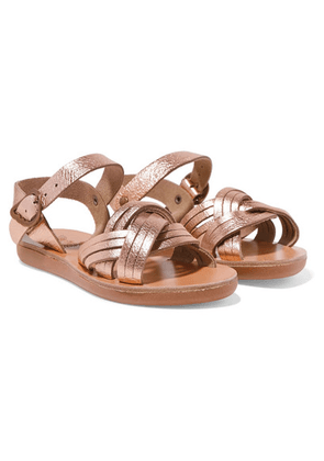 Ancient Greek Sandals Kids - Size 23 - 34 Little Electra Metallic Leather Sandals