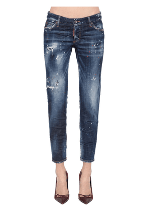 Jennifer Cropped Denim Pants