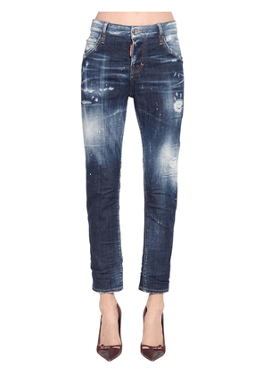 Cool Girl Cotton Denim Pants