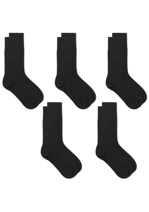 CDLP Bamboo Sock - 5 Pack Black