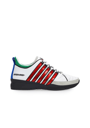 DSQUARED2 251 WHITE RED SNEAKER