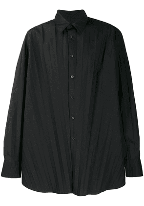 Valentino pleated shirt - Black