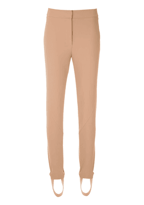 Egrey panelled trousers - Neutrals