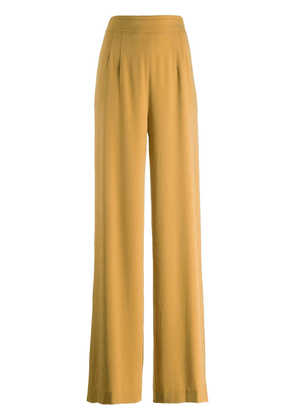 Chalayan flared trousers - Yellow