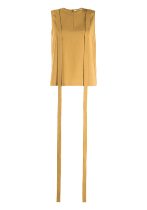 Chalayan ribbon blouse - Yellow