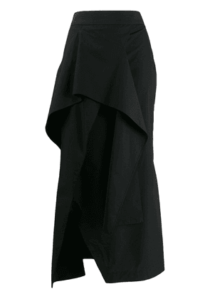 Chalayan asymmetrical skirt - Black