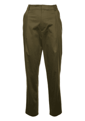 Alice+Olivia Grady tapered trousers - Green