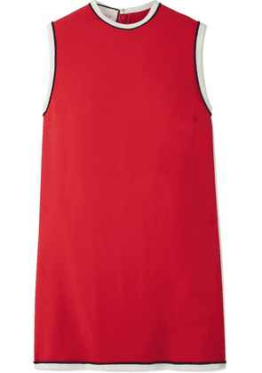 Gucci - Grosgrain-trimmed Cady Tunic - Red