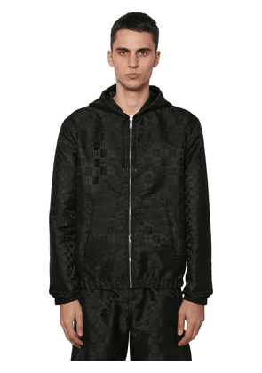 Reversible Hooded Techno Casual Jacket