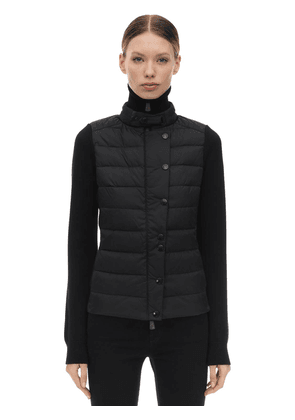 Extra Fine Tricot Down Jacket