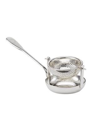 Silver-plated Tea Strainer