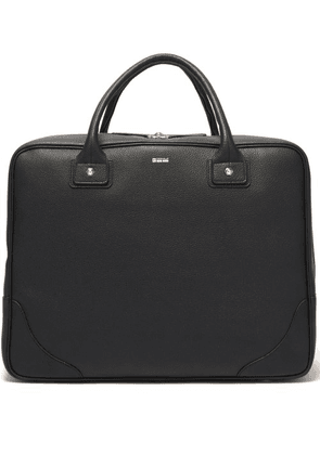 Connolly - Leather Travel Bag - Mens - Black