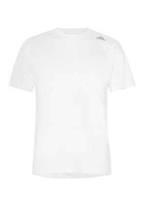 Adidas Sport - Freelift 360 Slim-fit Climachill T-shirt - White