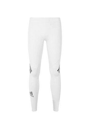 Adidas Sport - Alphaskin Sport+ Tights - White