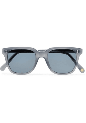 Cubitts - Vernon Square-frame Acetate Sunglasses - Gray