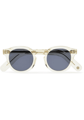 Cubitts - Bidborough Round-frame Acetate Sunglasses - Clear