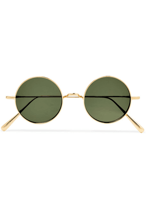 Cubitts - Guilford Round-frame Gold-tone Sunglasses - Gold