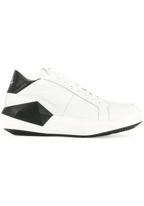 Cinzia Araia contrast low-top sneakers - White