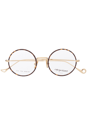Eyepetizer round frame glasses - Brown