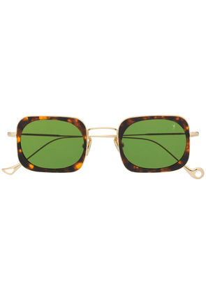 Eyepetizer square frame sunglasses - Brown