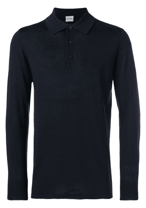 Aspesi longsleeved polo shirt - Blue