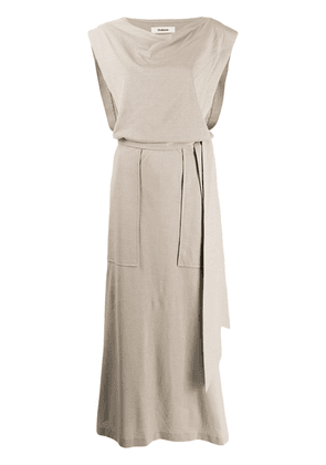 Chalayan day dress - Neutrals