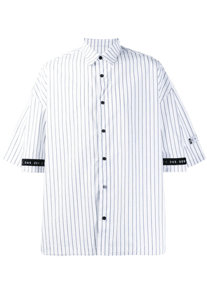 Youser striped shirt - White