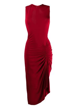 Joseph ruched detail dress - Red