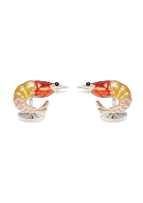 Shrimp cufflinks