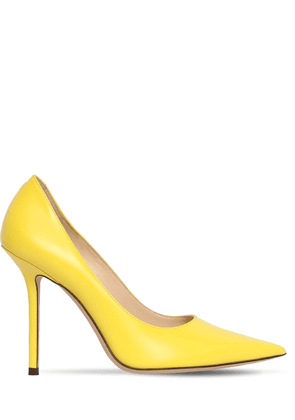 100mm Love Leather Pumps