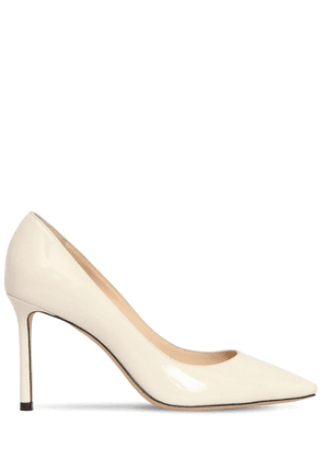 85mm Romy Patent Leather Pumps