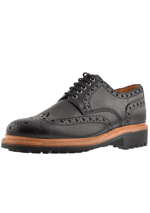 Grenson Archie Brogues Shoes Black