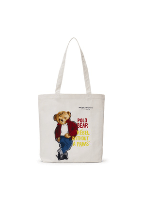 9d3fc00c5 Polo Ralph Lauren - Leather Tote Bag - Brown. $512. Polo Bear Film Canvas  Tote Bag