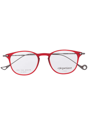 Eyepetizer circle frame glasses - Red