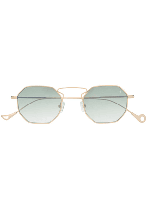 Eyepetizer circle frame sunglasses - Gold