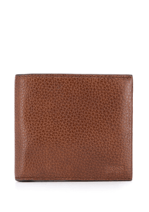 Boss Hugo Boss branded bi-fold wallet - Brown