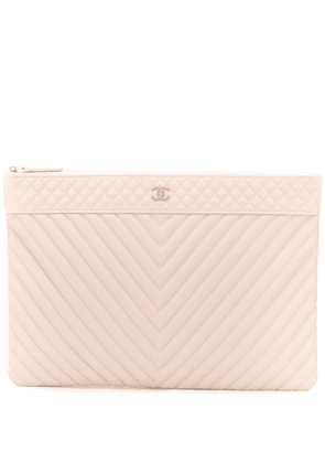 Chanel Vintage quilted clutch bag - Pink