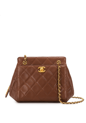 Chanel Vintage leather cross-body bag - Brown