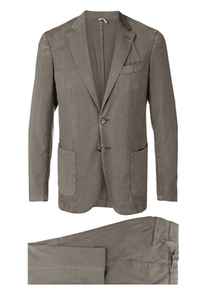 Dell'oglio two-piece suit - Green