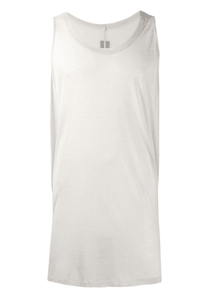 Rick Owens loose vest top - Grey