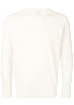 Aspesi fine knit crewneck sweater - Neutrals