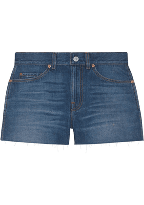 Gucci mini denim shorts - Blue