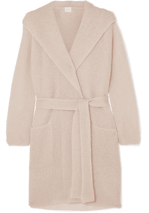 Max Mara - Leisure Hooded Mohair-blend Cardigan - Beige