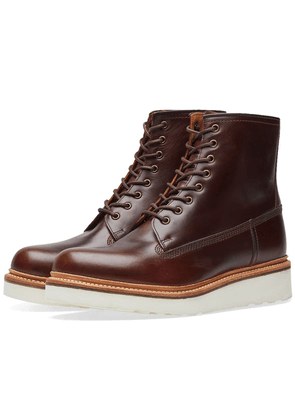 Grenson Arnold Boot Chestnut Pull Up