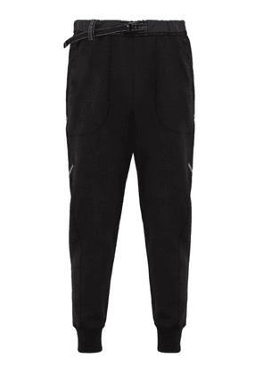 And Wander - Belted Technical Track Pants - Mens - Dark Grey