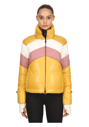 Lamar Nylon Laqué Down Jacket
