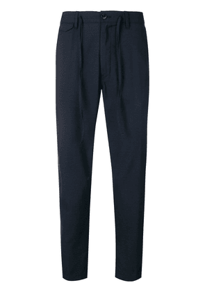 Closed classic tapered trousers - Blue