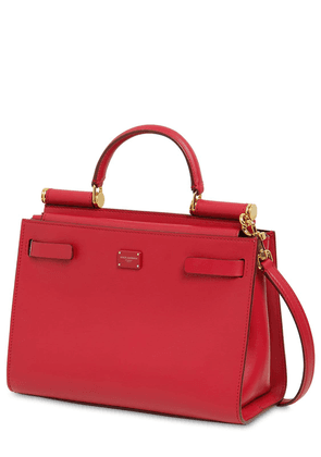 Sicily 62 Small Leather Top Handle Bag